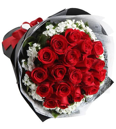 梦中情人-红玫瑰19枝