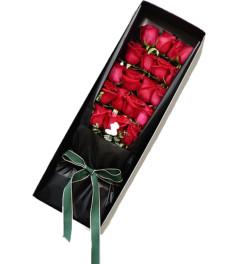 挚爱-19枝红玫瑰礼盒
