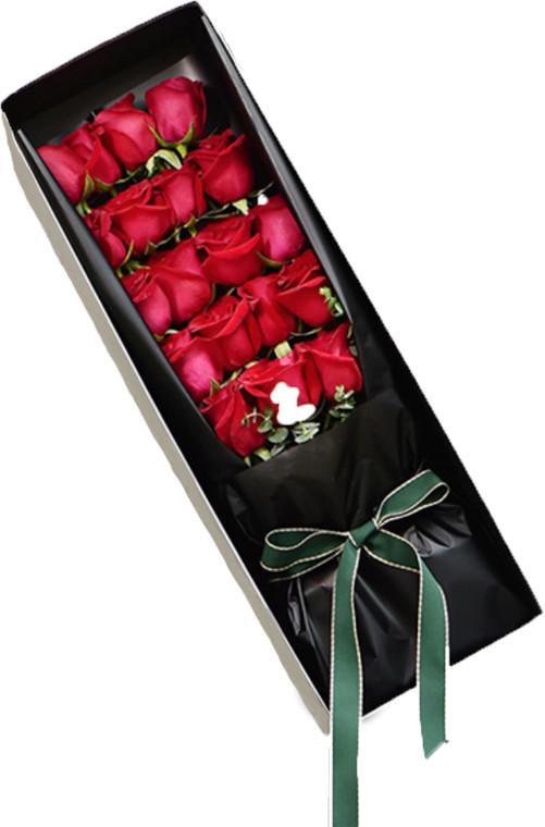 19枝红玫瑰礼盒1-2