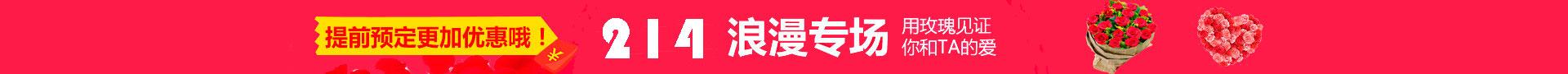 北京鲜花网214情人节送花专题