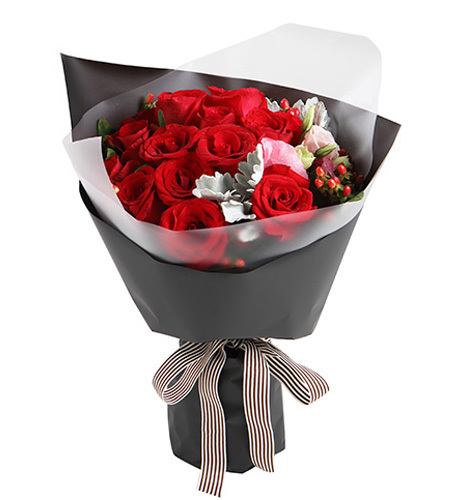 缪斯女神-红玫瑰16枝