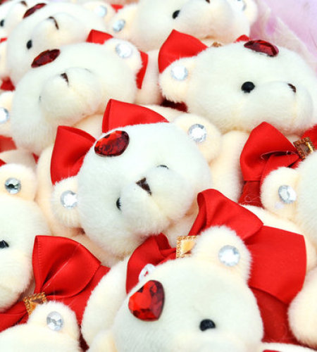浪漫婚礼-16只小熊