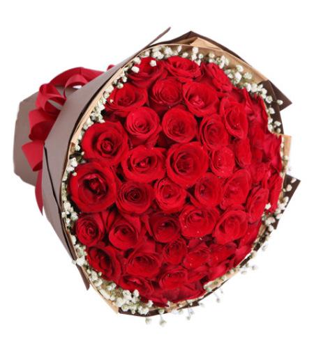 热恋-红玫瑰50枝