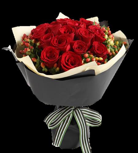 念念不忘-红玫瑰19枝