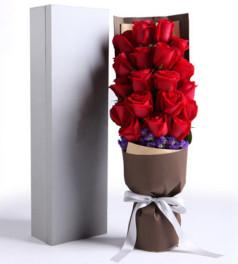 鱼水情-19枝红玫瑰礼盒