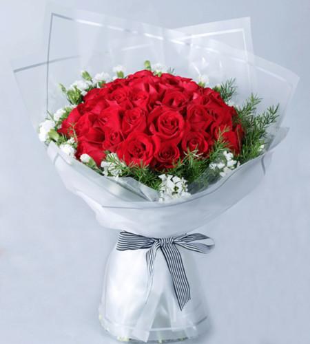 倾情一世-33枝红玫瑰