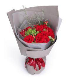 真实的爱-11枝红玫瑰
