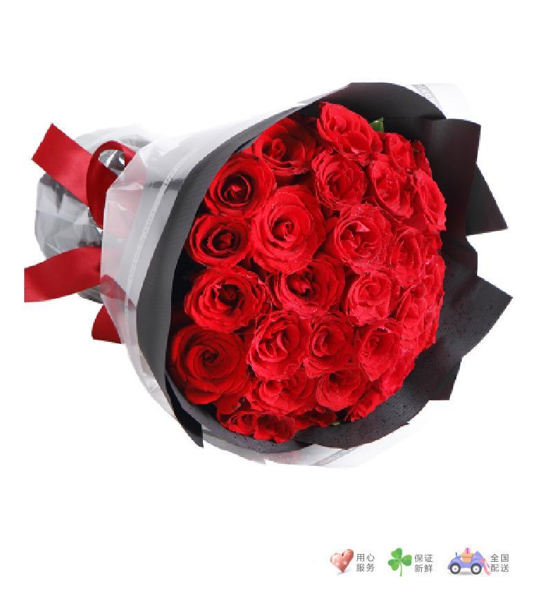 三生三世-33枝红玫瑰-鲜花速递